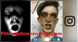 Filter Halloween instagram, begini cara mendapatkannya