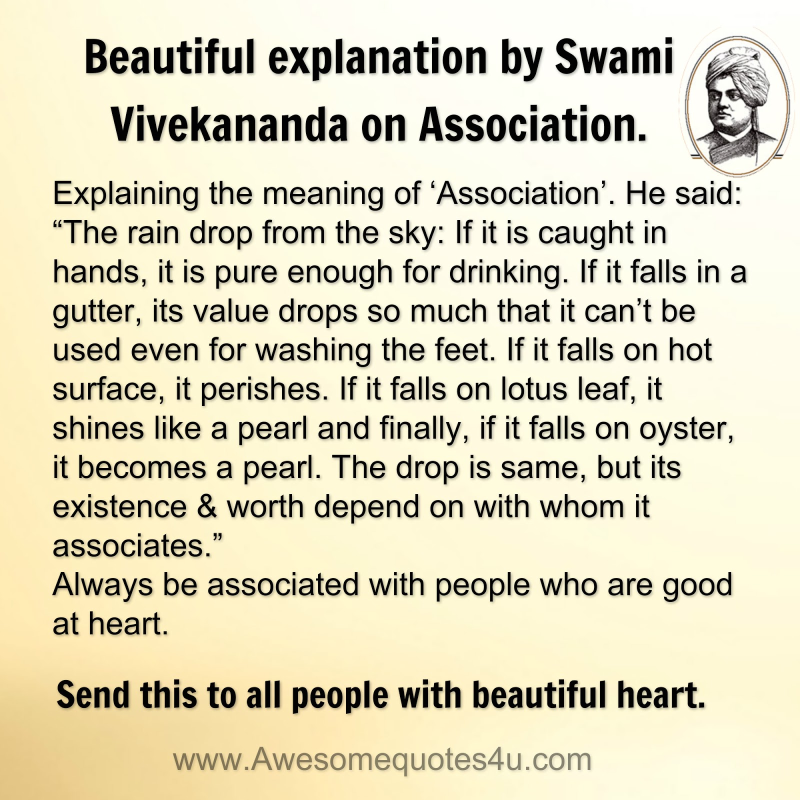 Awesome Quotes Beautiful Explanation By Swami Vivekananda On