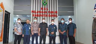 Bangun Sharing Informasi, MPP Polman Sulbar Kunjungi MPP Barru