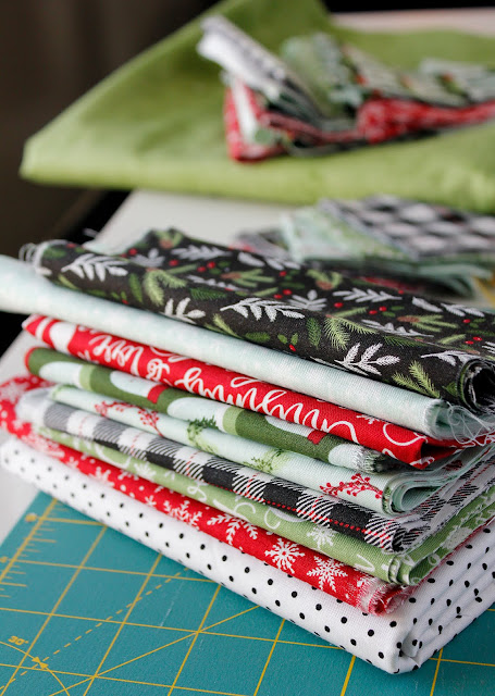 Comfort and Joy fabric from Riley Blake Designs