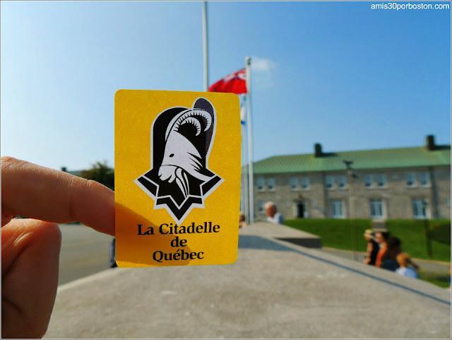 Entrada a la Ciudadela de Quebec en Canadá