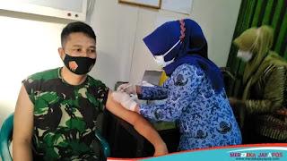 Vaksinasi Tahap Kedua Bagi Personel Kodim 0719/Jepara