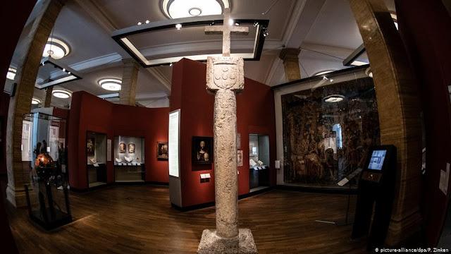 Germany returning 15th century stone cross to Namibia