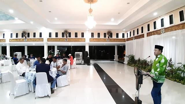 H. Juarsah SH Mengajak PWI dan IWO Turut Berkontribusi Membangun Daerah Sesuai Perannya