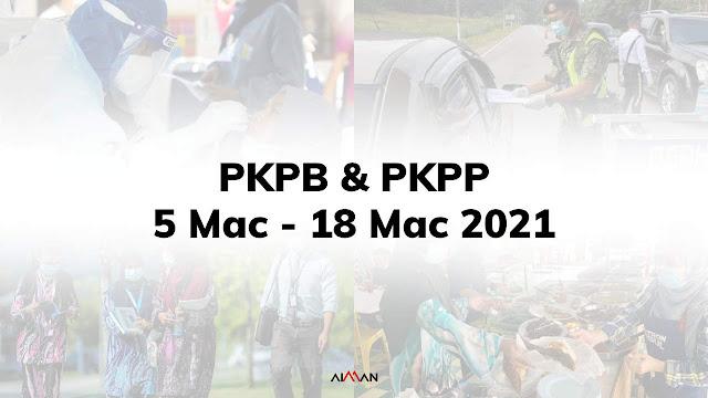 Pahang Kini Bertukar Status Kepada PKPP Bermula Jumaat, 5 Mac