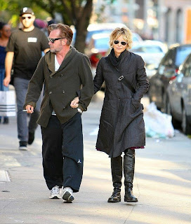 Thing could save if we say that Meg Ryan and her boyfriend, John Mellencamp are suitable couple. And the managed to looked smitten in each other well as the pair were snapped to walking at the Downtown Manhattan street in New York, USA on Monday, November 10, 2014.