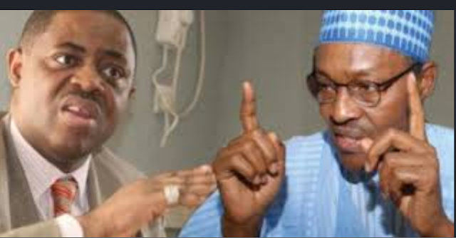 Gunshots in Aso Villa, you are indeed not in control of affairs in Nigeria - FFK To Buhari