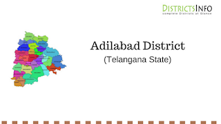 Adilabad District with Mandals