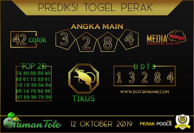 Prediksi Togel PERAK TAMAN TOTO 12 OKTOBER 2019