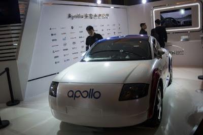 Baidu Apollo driverless car
