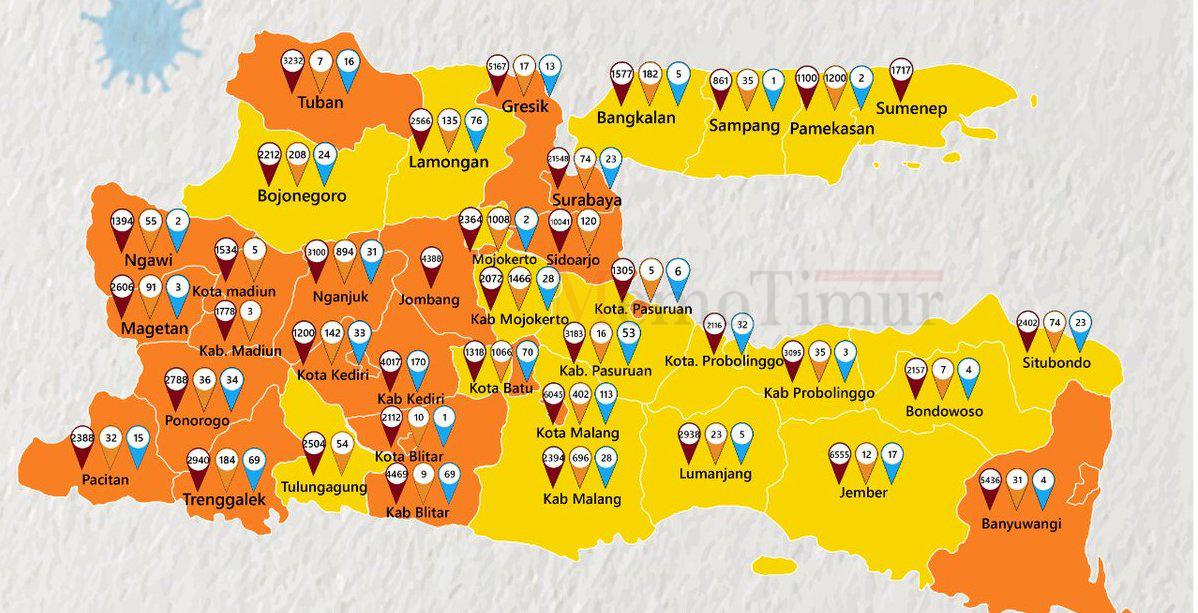 37 Pasien Covid-19 Dirawat di RS, Lumajang Sudah Zona Kuning
