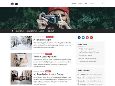 xMag WordPress Theme