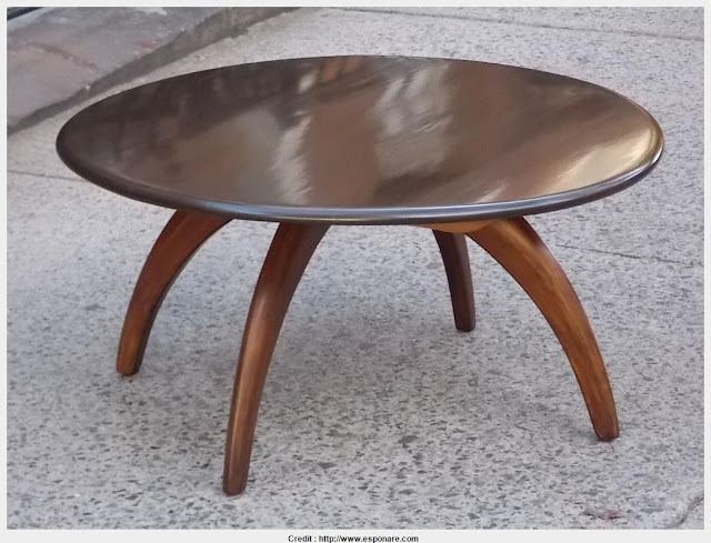 Amazing Wood Round Coffee Table HD