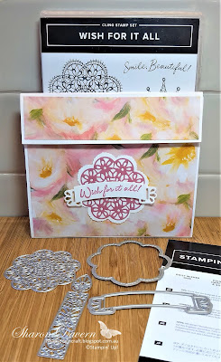 Wish for it all, Doily wishes, Perennial Essence DPS, Birthday Card, Fancy Fold, Ultimate Pop-up Card, Rhapsody in craft, Stampin' Up, Art with heart