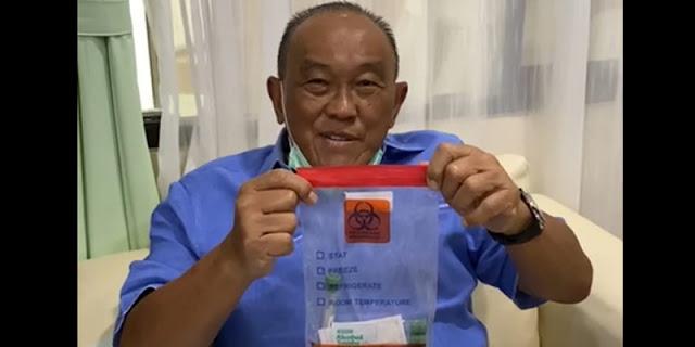 Disuntik Perdana, Aburizal Bakrie: Ini Vaksin Nusantara, InsyaAllah Berhasil