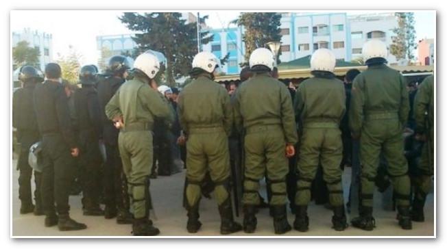 """اعتقال """"مخزني"""" بأكادير وإيداعه السجن بتهم ثقيلة"""