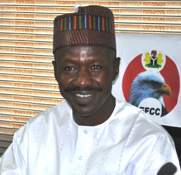 Financial Crimes Commission EFCC, Ibrahim Magu
