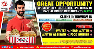 Casual Dining Restaurants in Saudi Arabia