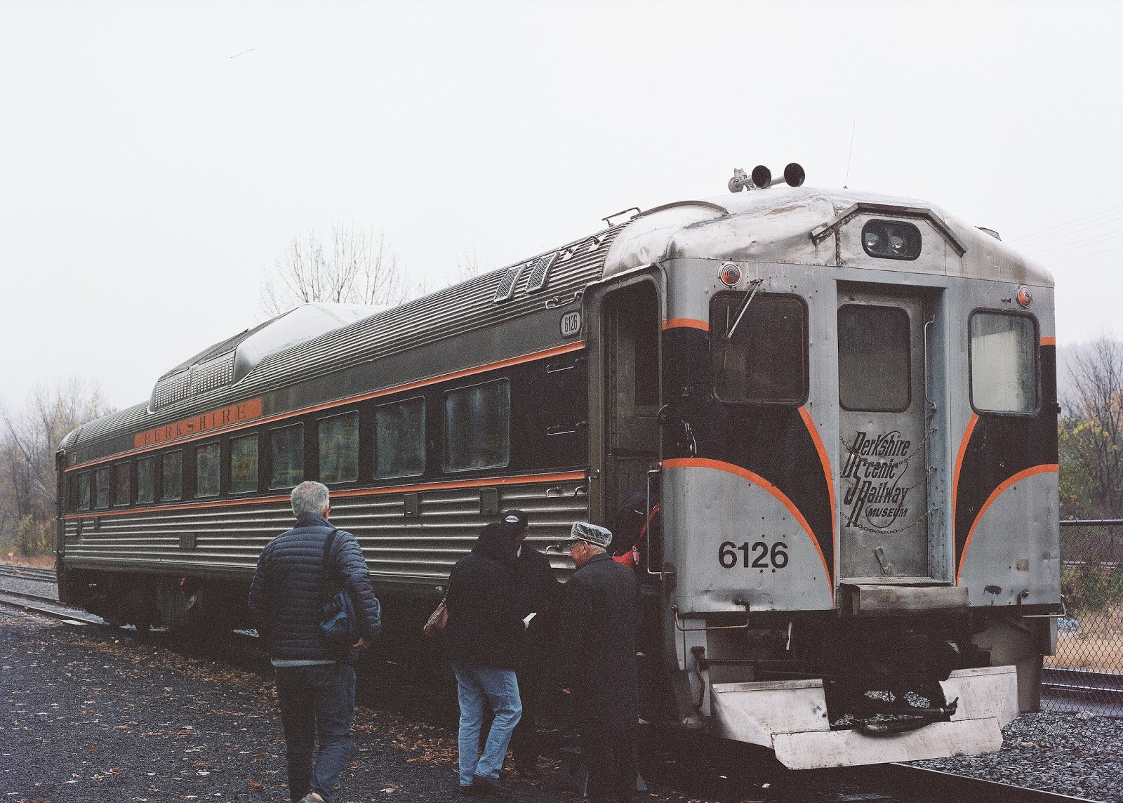 All Aboard the Berkshire Scenic Railroad