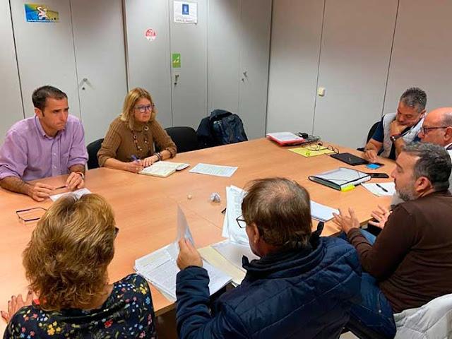 reunión Trabajadores limpieza Las Palmas de Gran Canaria, con concejales  PP