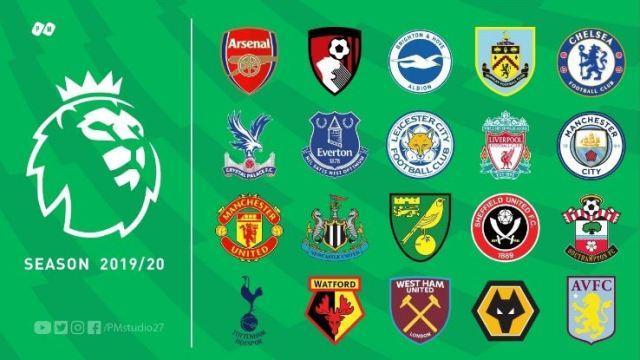 Jadwal Liga Inggris 2019-2020
