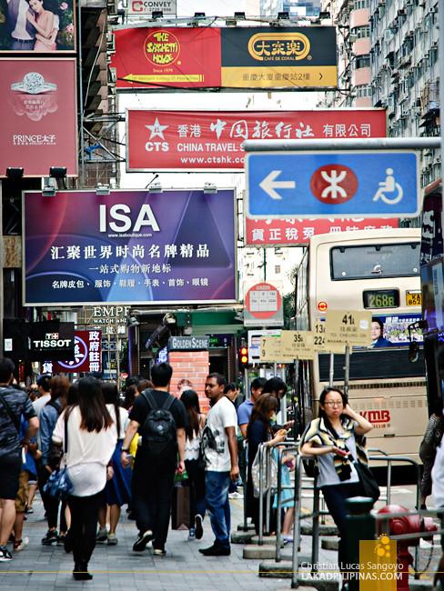 Hong Kong Store Signs