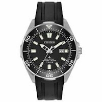 Citizen BN0200-05E Titanium Men's Promaster Diver Black Eco-Drive Watch