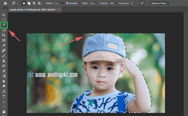 3 Cara Memotong Gambar di Photoshop Sesuai Bentuk yang Kita Inginkan