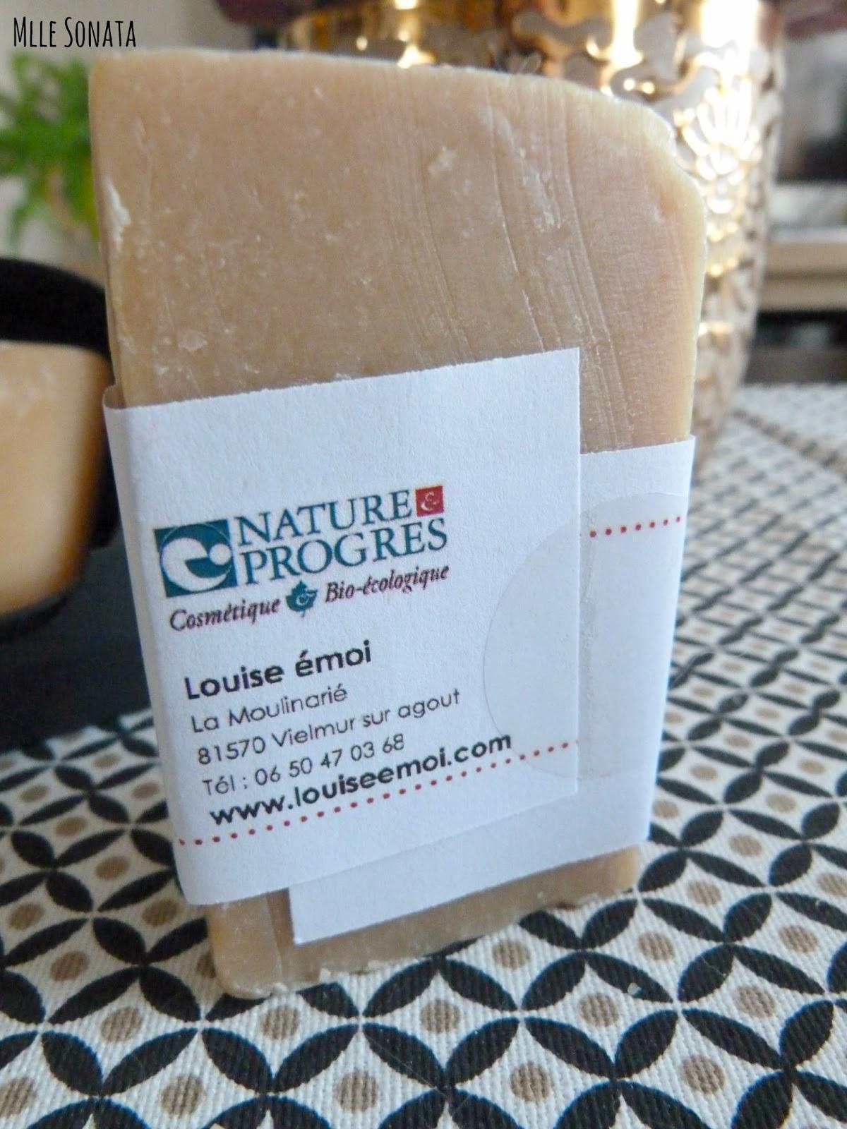Certification du savon saponifié à froid de Louise Emoi
