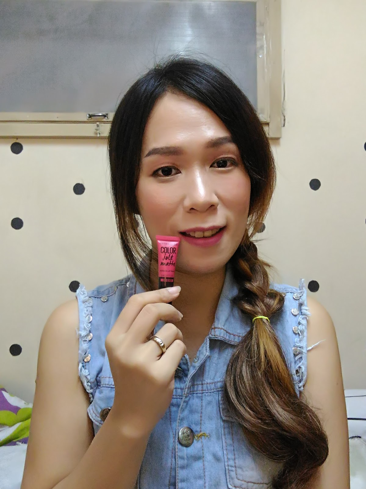 08 - Maybelline Color Jolt Matte Intense Lip Paints - Flaunting My Pink