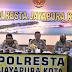 Tim Puslitbang Polri Gelar Penelitian dan Evaluasi Serta Standarisasi Pengadaan Distribusi dan Peruntukkan Senpi di Polresta