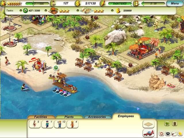 لعبة Paradise Beach