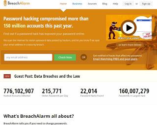 Sito BreachAlarm.com