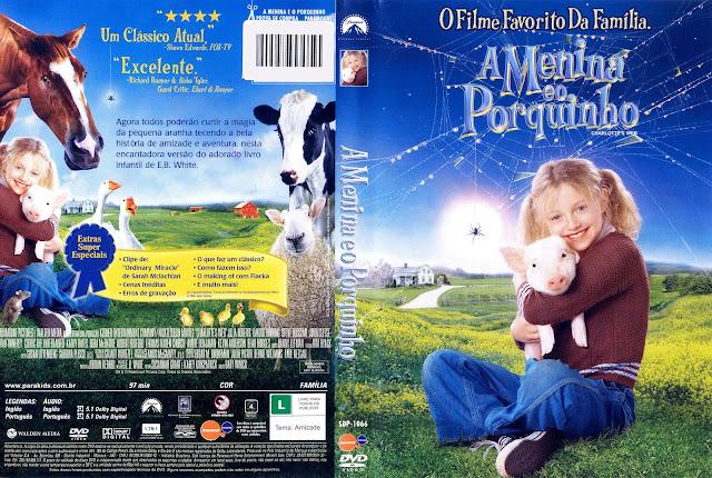 Capa DVD A Menina e o Porquinho