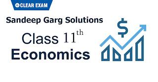 Solutions for Class 11 Economics