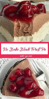No Bake Black Forest Pie