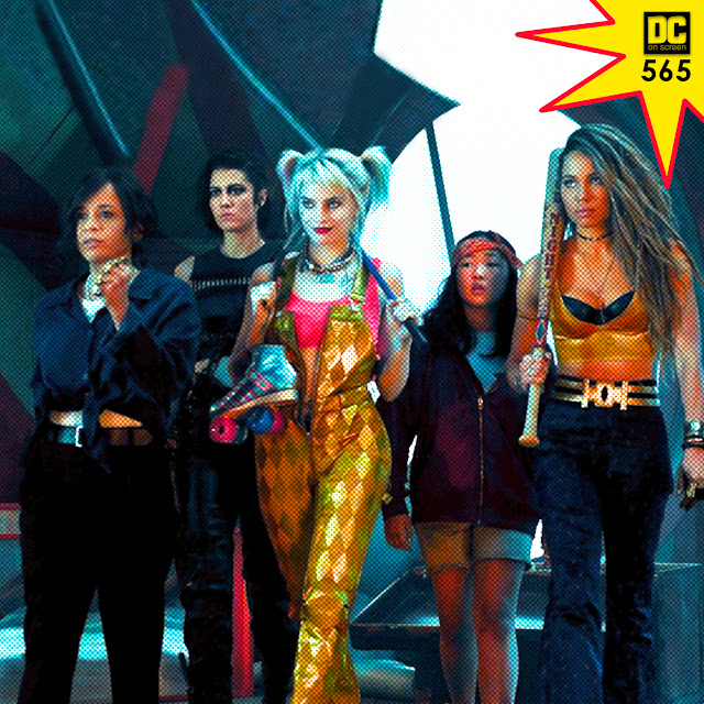 The Birds of Prey - Rene Montoya, Huntress, Harley Quinn, Orphan, Black Canary