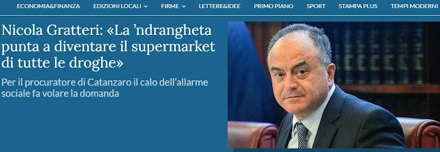 Albanian Mafia is increasing rapidly according to Italian Prosecutor Nicola Gratteri