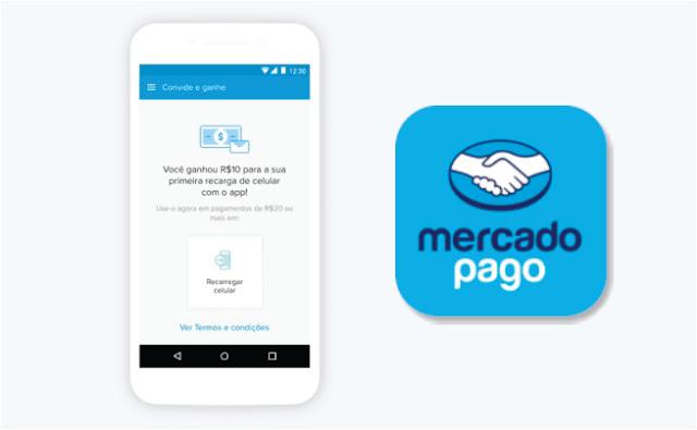 Desconto R$10 recarga MercadoPago