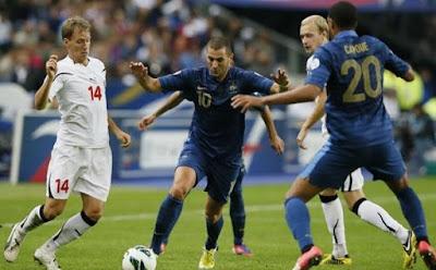 Prediksi Skor Timnas Belarusia vs Prancis 7 September 2016