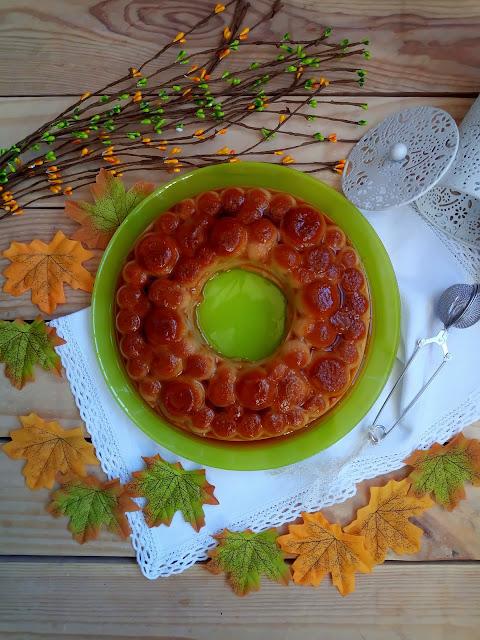 Flan de calabaza sin horno (con Monsieur Cuisine) Pumpkin, cinnamon, postre, otoño, Cuca