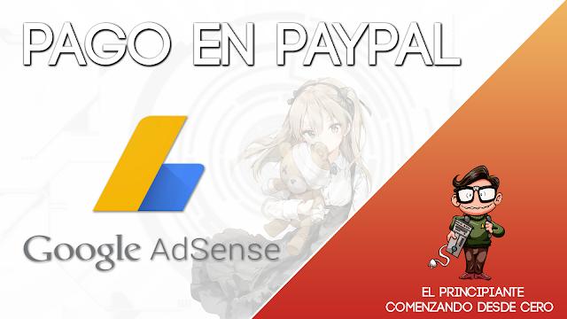 Google Adsense Pago en Paypal