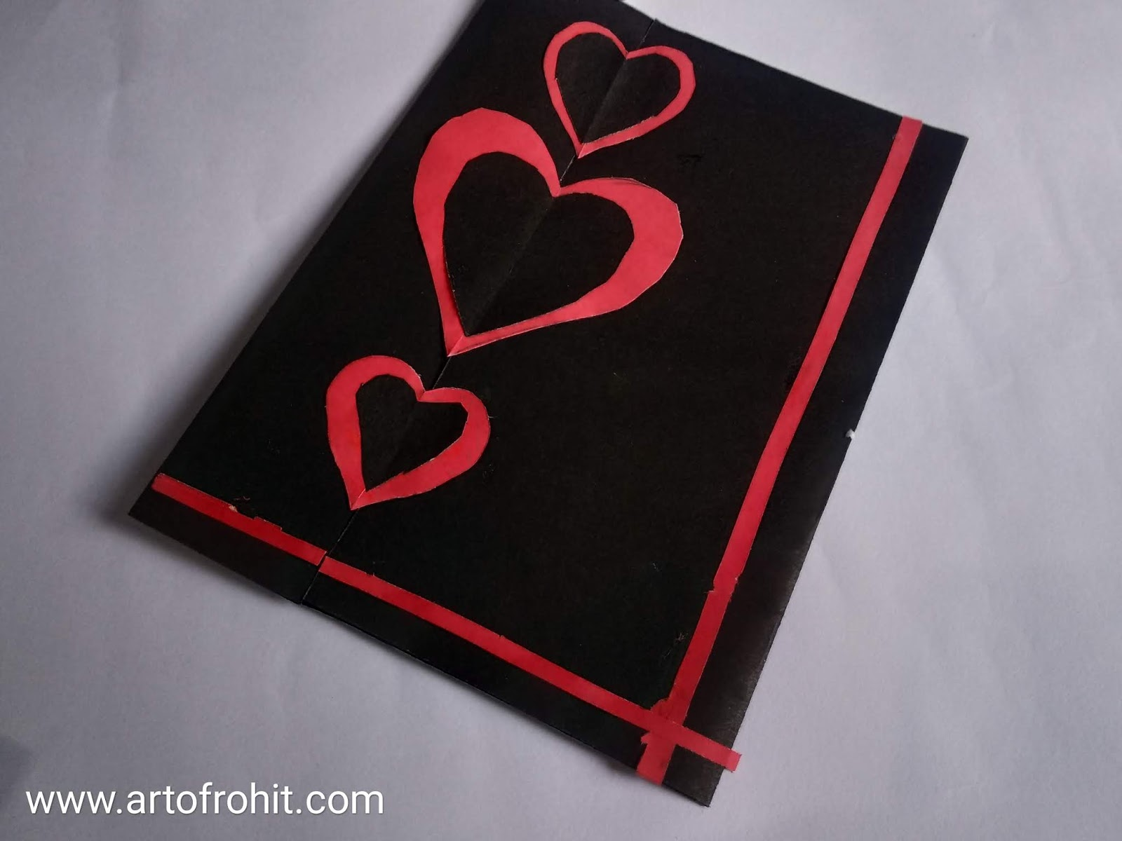 Artofrohit Com Valentine S Day Card Best 3 Ways To Make Greeting