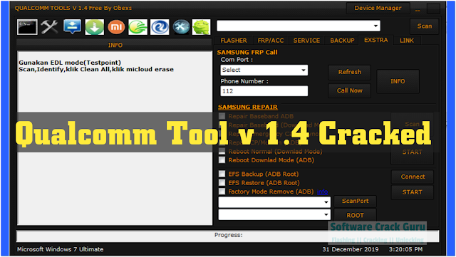 Qualcomm Tool v1.4 Full Cracked Latest version (2020) Free Download
