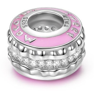 925 Sterling French Macaroon Charm $17 (reg $54) - all 5 star reviews!
