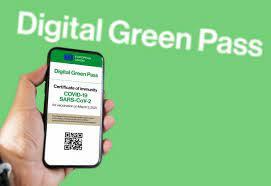 'green pass' certificate