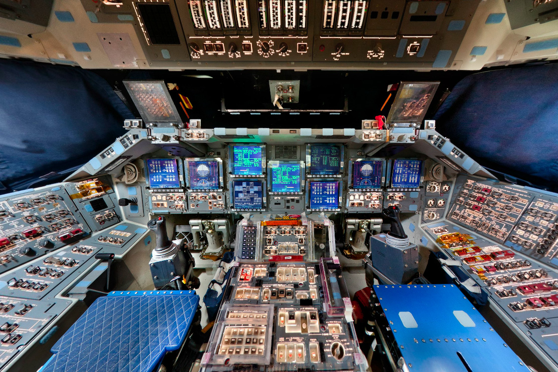 space shuttle cockpit takeoff - photo #38
