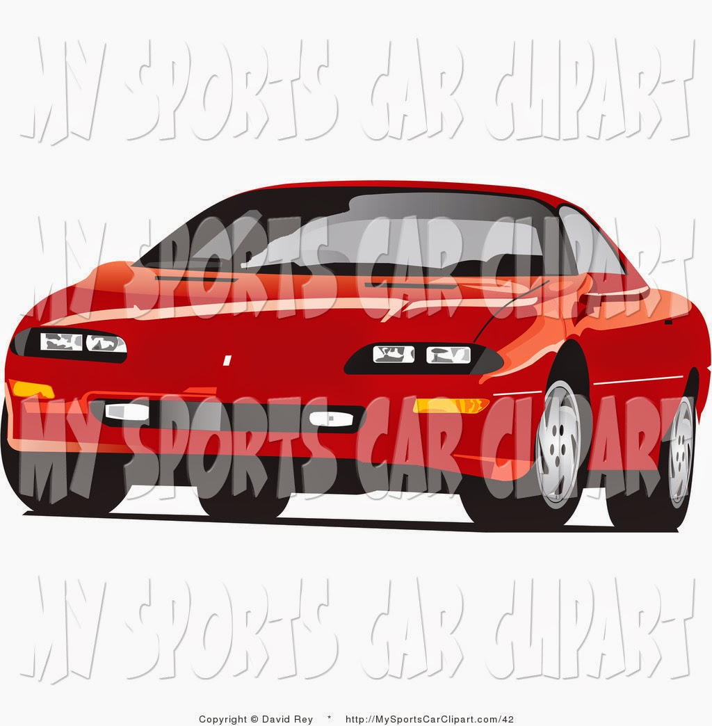 Used Car Pictures: Car From The Front Sports Clip Art