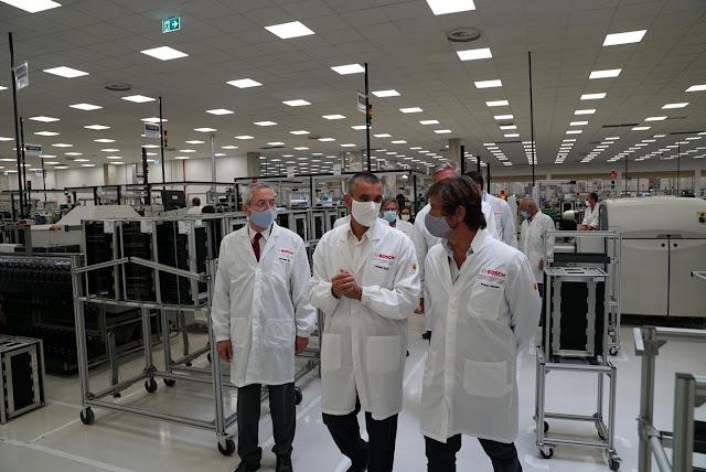 Bosch aumenta capacidade em Ovar com nova área de I&D e produção