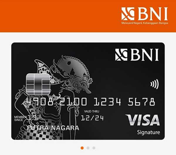 Pengajuan Aplikasi Kartu Kredit BNI Online